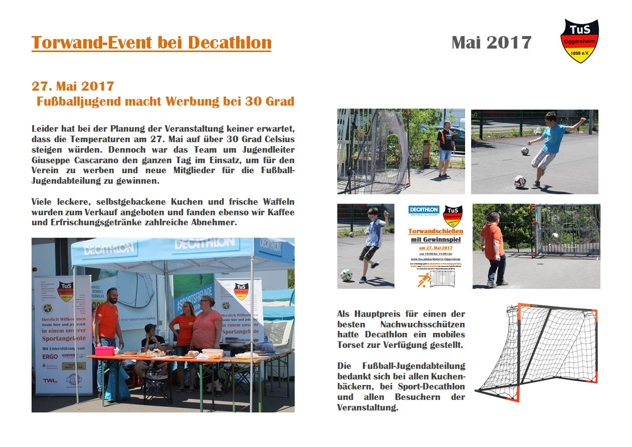 20170527 Torwand Decathlon